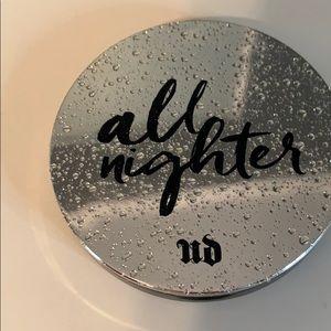 All nighter setting powder